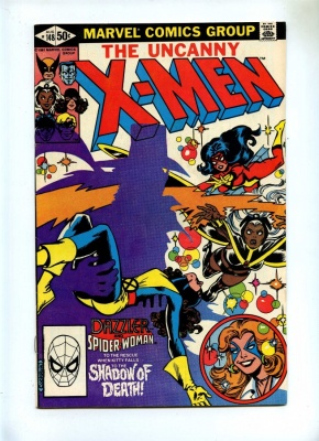Uncanny X-Men 148 - Marvel 1981 - VFN - 1st App Caliban - Spider-Woman and Dazzler App