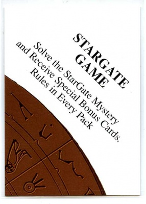 Unlock the Stargate Puzzle Set Card - Card 4 of 12
