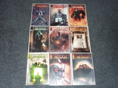 Violent Messiahs #0.5 to #8 - Image 2000 - Complete Set