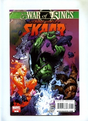 War of Kings Savage World of Skaar One-Shot #1 - Marvel 2009 - One Shot