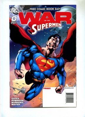 War of the Supermen 0 - DC 2010 - VFN - Free Comic Book Day FCBD - Superman