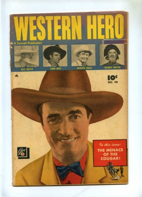 Western Hero #90 - Fawcett 1950 - GD/VG