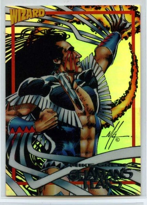 Wizard Foil Card - #7 - Image - Shaman's Tears - Mike Grell