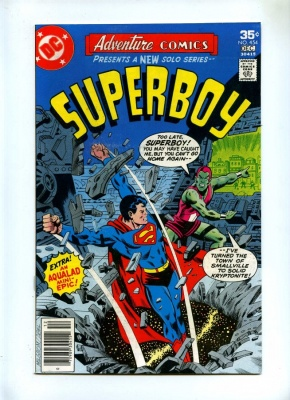 Adventure Comics 454 - DC 1977 - VFN - Superboy