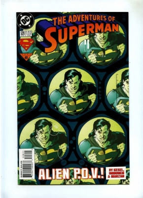 Adventures of Superman 528 - DC 1995 - NM-