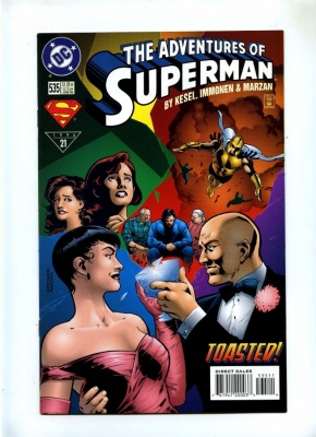 Adventures of Superman 535 - DC 1996 - VFN+ - Lex Luther