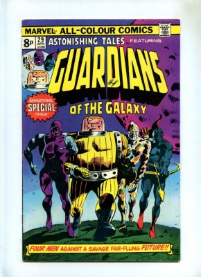 Astonishing Tales #29 - 1975 - Pence - Reprints 1st App Guardians of the Galaxy