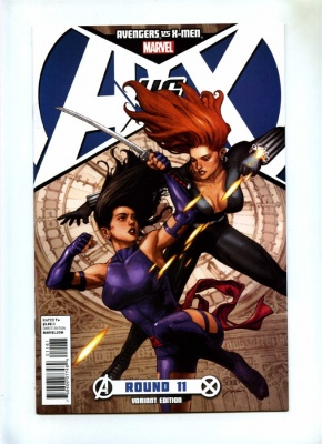 Avengers vs X-Men #11E - Marvel 2012 - Psylocke vs Black Widow Variant Cvr