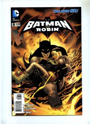 Batman and Robin 8 - DC 2012 - NM - New 52 - 1st Print