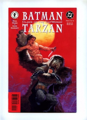 Batman-Tarzan Claws of the Cat-Woman 2 - Dark Horse 1999 - VFN