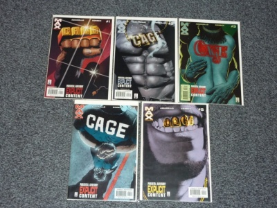 Cage #1 to #5 - Max Comics 2002 - Complete Set