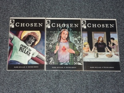 Chosen #1 to #3 - Dark Horse 2004 - Complete Set