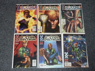 Doctor Spectrum #1 to #6 - Max Comics 2004 - Complete Set