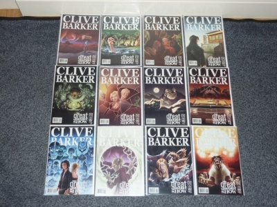 Great and Secret Show #1 to #12 - IDW 2006 - Complete Set - Clive Barker