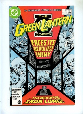 Green Lantern 204 - DC 1986 - NM