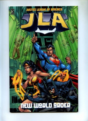 JLA New World Order  #1 - Titan Books 1997 - VFN - Graphic Novel