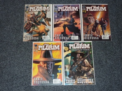 Just a Pilgrim Garden of Eden #1 to #4 + Preview Black Bull 2002 Set - 5 Comics