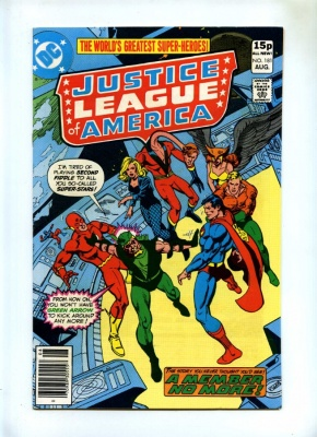 Justice League of America #181 - DC 1980 - Pence - Green Arrow Leaves JLA - VFN+