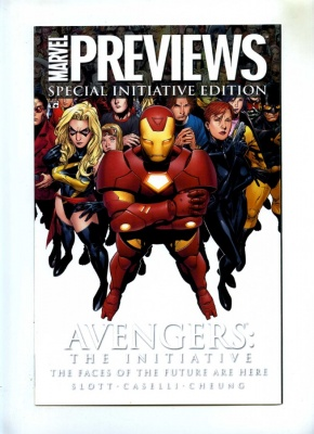 Marvel Previews Special Initiative Edition #1 - Marvel 2007 One Shot - Avengers
