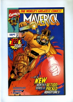 Maverick #1 - Marvel 1997