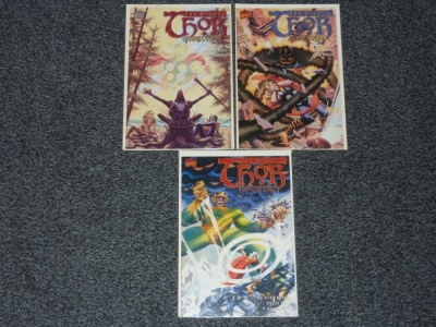 Mighty Thor Godstorm #1 to #3 - Marvel 2001 - Complete Set
