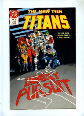 New Teen Titans 32 - DC 1987 - VFN