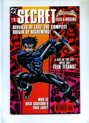 Nightwing Secret Files #1 - DC Comics 1999 - One Shot