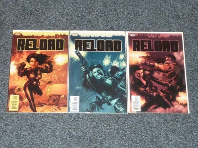 Reload #1 to #3 - Wildstorm 2003 - Complete Set - Warren Ellis