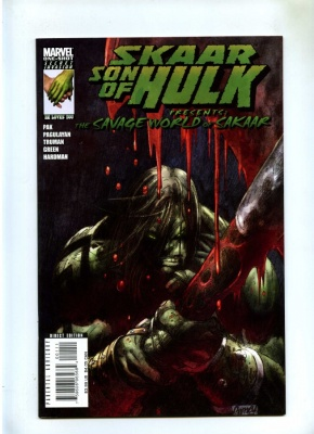 Skaar Son of Hulk Presents Savage World of Sakaar #1 - Marvel 2008 - One Shot