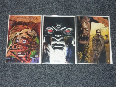 Sleepwalking #1 to #3 - Hall of Heroes 1996 - Complete Set