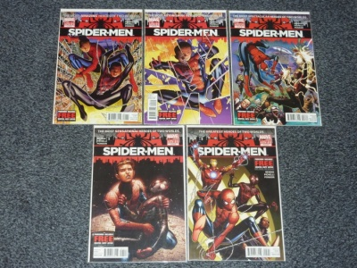 Spider-Men #1 to #5 - Marvel 2012 - Complete Set - Miles Morales