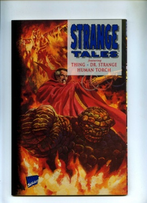 Strange Tales #1 - Marvel 1994 - One Shot - Acetate Outer Covers