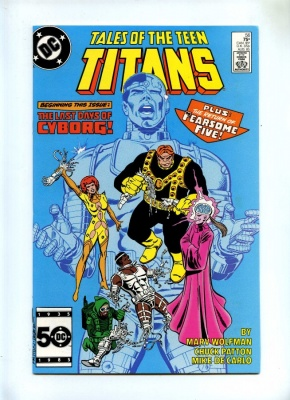 Tales of the Teen Titans 56 - DC 1985 - VFN+ - Intro Jinx