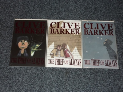 Thief of Always #1 to #3 - IDW 2005 - Complete Set Prestige Format Clive Barker