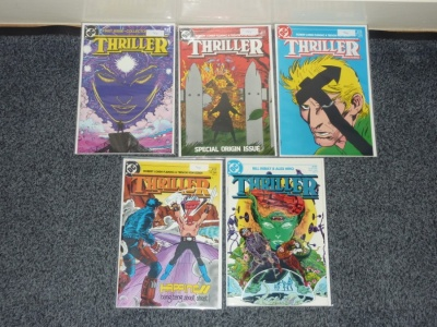 Thriller #1 to #4 + #9 - DC 1983