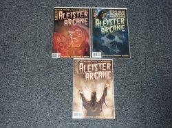 Aleister Arcane #1 to #3 - IDW 2004 - Complete Set - Adults Only