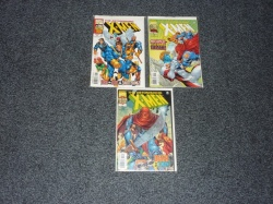 Astonishing X-Men #1 to #3 - Marvel 1999 - Complete Set
