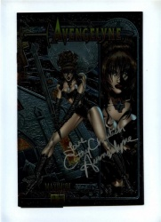 Avengelyne 1 - Maximum 1995 - NM - Signed Cathy Christian - Chromium Cover