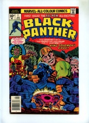 Black Panther #1 - Marvel 1977 - Pence