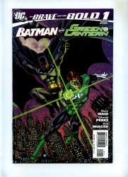 Brave and the Bold 3rd Series #1 - DC 2007 - VFN - Batman and Green Lantern City Background Cover