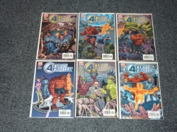 Fantastic Four First Family #1 to #6 - Marvel 2006 - Complete Set