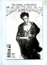 Sandman Overture 1 - Vertigo 2013 - VFN - Black and White Cover JWilliams