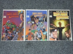 Savant Garde #1 to #3 - Image 1997 - All 3 Fan Editions