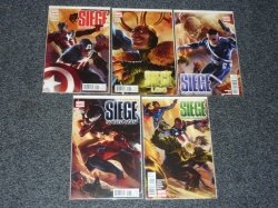 Siege Capt America Loki Secret Warriors Spider-Man Young Avengers #1 x5 - Marvel