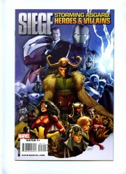 Siege Storming Asgard Heroes & Villains #1 - Marvel 2010 - One Shot