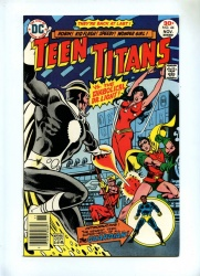 Teen Titans 44 - DC 1976 - VFN - Dr Light App - Mal Becomes the Guardian