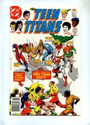 Teen Titans 50 - DC 1977 - VFN/NM - 1st Revival Original Bat-Girl