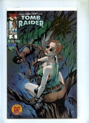 Tomb Raider #4 - Image 2000 - DF Alternate Gold Foil Cvr with COA - NM
