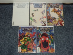 Zero Hour Crisis in Time #0 to #4 - DC 1994 - FN+ to VFN - Complete Set